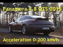 porsche panamera gts 0 100 porsche panamera 4 8 v8 gts 2015 acceleration 0 100 0 200 0