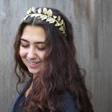 gold headbands best gold leaf headpiece products on wanelo