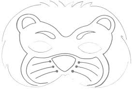 lion mask craft