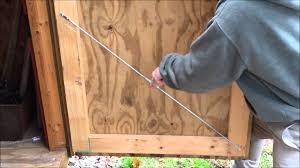 how to fix a warped cabinet door how to fix a bowed door youtube