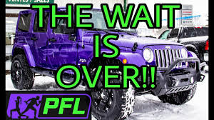 jeep purple brand new modified 2017 jeep sahara wrangler unlimited youtube
