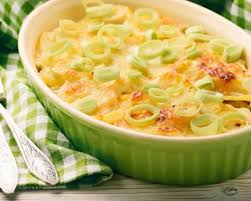 poireaux cuisiner recette gratin de poireaux au fromage œufs et muscade