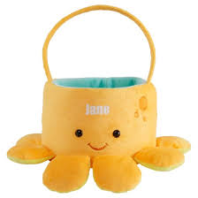 plush easter baskets personalized friends plush easter basket available in 3