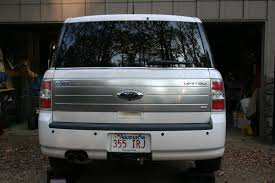 Pics Of Ford Flex Ford Flex Factory Hitch Project Unknown Dog