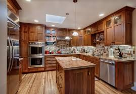 Warm Cozy Custom Kitchen Griffin Custom Cabinets - Discount kitchen cabinets bay area
