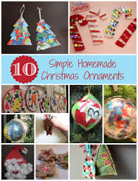 toddler approved 10 simple homemade christmas ornaments