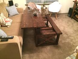 pull up coffee table coffe table coffe tablell out coffee desk with ottoman
