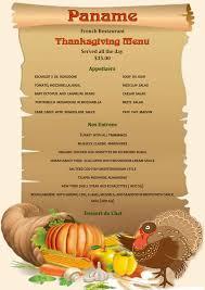 prix fixe thanksgiving menu paname restaurant nyc