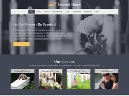 funeral home website design funeral home website template mobile