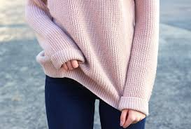 the coziest blush sweater lovely complex