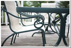 Lawn Chair Fabric Material How To Paint Outdoor Furniture With Sling Seats Inmyownstyle