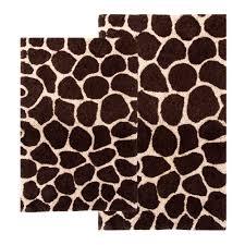 delectable 50 brown animal print bathroom accessories design