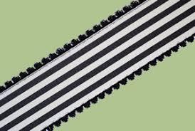 black and white striped ribbon vintage ribbon taffeta plaid collection