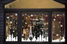 christmas window paper decorations simple window decoration paper
