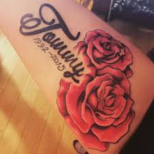 roses and name tattoos images for tatouage
