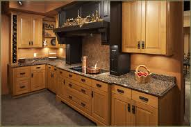 tile countertops quarter sawn oak kitchen cabinets lighting