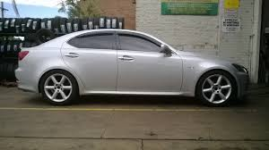 lexus is 250 custom wheels 18