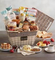 breakfast gift baskets gourmet brunch chalkboard basket gift baskets totes wolferman s