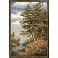 hautman deer in pines