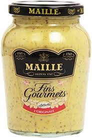 gourmet mustard gourmet mustard with white wine vinegar maille moutarde