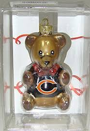 the boelter companies 136 chibea teddy ornament chicago bears