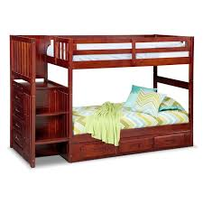 Bunk Bed With Storage Stairs Ranger Bunk Bed With Storage Stairs Underbed