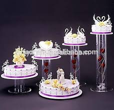 acrylic cake stands 5 tier acrylic cake stands with lights buy acrylic cake stands