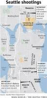 Seattle Crime Map by 5 Shot 1 Woman Fatally In Central District University District