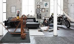deco loft americain deco loft new yorkais meuble d u0027ancien garage 1900 détourné en table