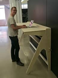 Diy Stand Up Desk Open Desks Studio And Spaces