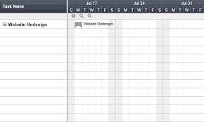 Four Column Chart Template by Gantt Chart Software Smartsheet