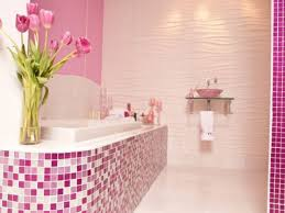 pink and black bathroom ideas