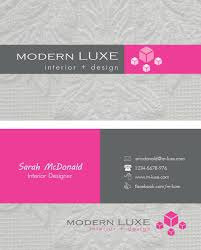 interior design creative interior design business cards ideas