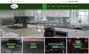 cole cabinets success story rhode island web design
