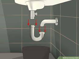How To Clear A Clogged Bathroom Sink How To Unclog A Sink 10 Steps With Pictures Wikihow