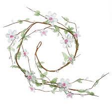 flower garland clear acrylic flower garland garlands floral supplies craft