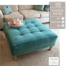 Upholstered Ottoman Coffee Table Upholstered Ottoman Coffee Table Canada Reclaimed Metal Mid
