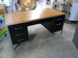 metal desk with laminate top metal desk with wood laminate top metal desk with wood top 6