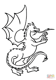 dragons coloring pages dragon standing up coloring page free printable coloring pages