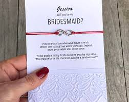 bridesmaids invites bridesmaid bracelet ask bridesmaids bridesmaid