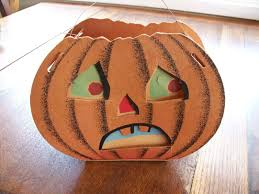 dolly toy co vintage halloween double face pumpkin jack 0 u0027 lantern