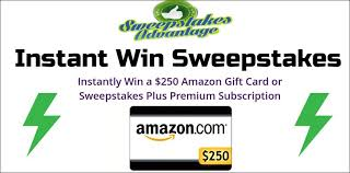 instant win gift cards sweepstakes advantage instant win sweepstakes gift and