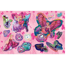 barbie mariposa fairy princess sticker storybook