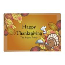 turkey placemats turkey placemats zazzle