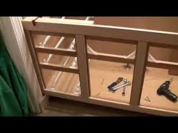 how to reface cabinet doors fabulous bath cabinet refinishing refacing project part 1 youtube of