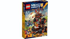 siege lego lego 70321 nexo knights general magmar siege machine of doom