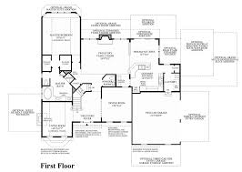All In The Family House Floor Plan Newtown Square Pa New Homes For Sale Liseter The Merion Collection