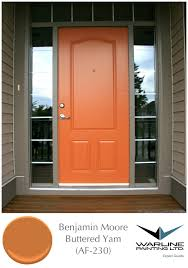 Colors For Front Doors Ten Best Front Door Colours For Your House Orange Door Doors