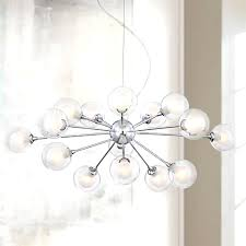 Glass Orb Chandelier Possini Euro Design 15 Light Glass Orbs Ceiling With Sphere