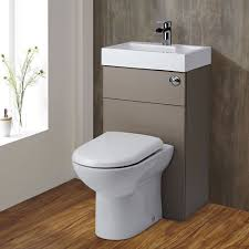 all in one toilet and sink unit milano 2 in 1 toilet basin combination unit stone grey